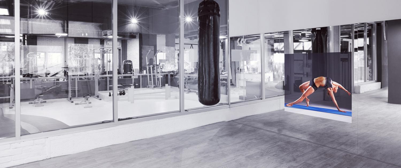 Gym Mirror tv Spectra